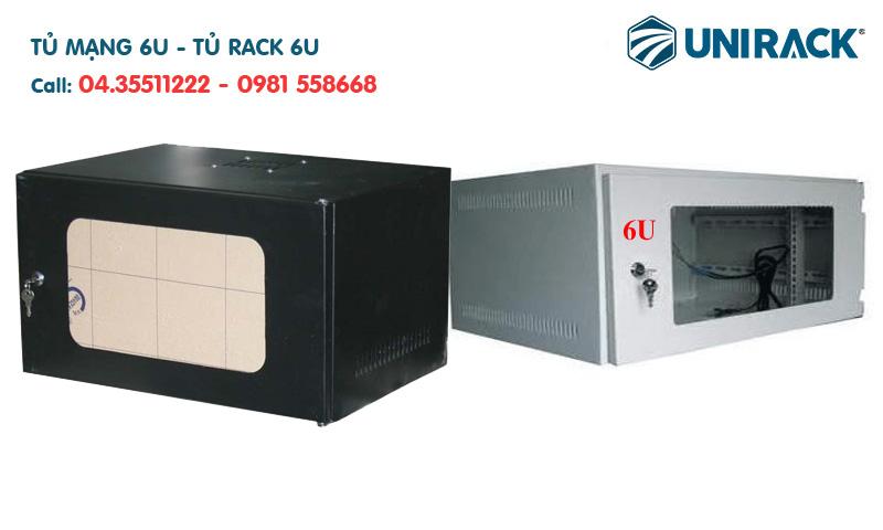 Tủ mạng 6U, tủ Rack 6U là gì, Tìm hiểu về tủ mạng 6U