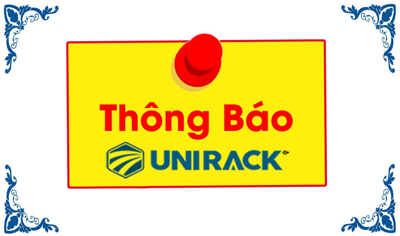 Unirack thông báo mở văn phòng đại diện khu vực phía nam, Unirack thông báo mở văn phòng đại diện khu vực phía nam tại Sài Gòn