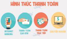 Các phương thức thanh toán tại Unirack Việt Nam