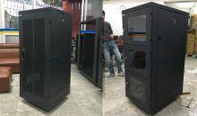 Tủ mạng 27U sâu 800 cửa Mika theo yêu cầu của khách hàng