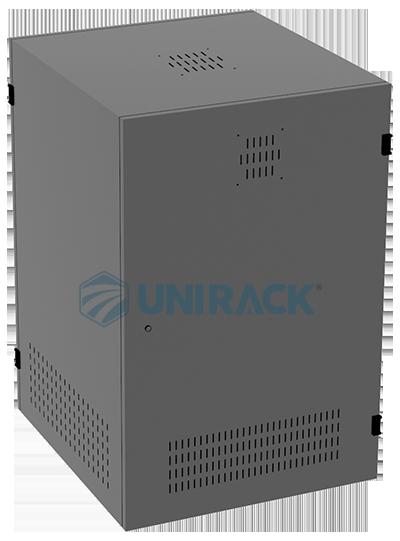Tủ mạng 15U sâu 600, Tủ Rack 15U D600 - UNR-15U600