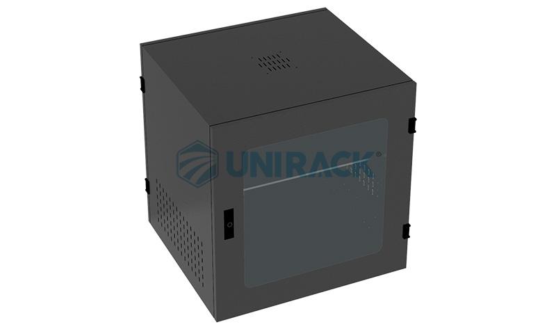Tủ Rack 10U D500 màu đen