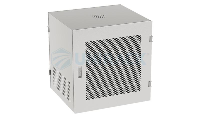 Tủ Rack 10U D500 màu trắng cửa lưới