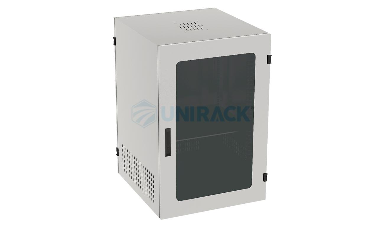 tủ mạng 15U D600MK màu trắng
